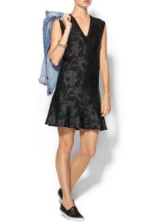 Rebecca Taylor Floral Raffia Dress