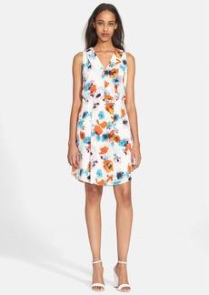 Rebecca Taylor 'Flower Press' Silk Dress