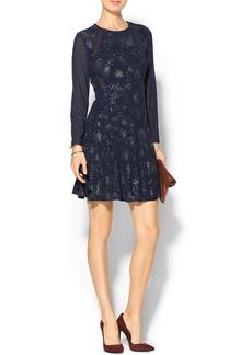 Rebecca Taylor Foil Print Dress