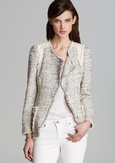 Rebecca Taylor Jacket - Color Block Tweed