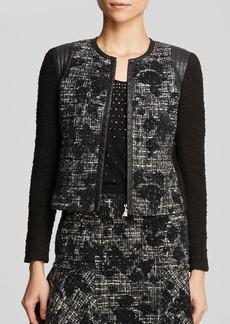 Rebecca Taylor Jacket - Floral Tweed