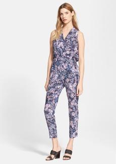 Rebecca Taylor 'Kiku' Print Silk Jumpsuit