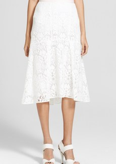 Rebecca Taylor Lace Fluted Skirt