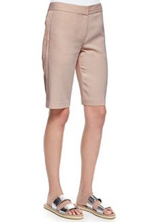 Rebecca Taylor Lace-Side Suiting Shorts