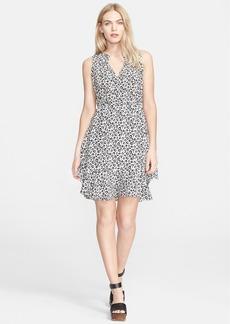Rebecca Taylor 'Lena Leo' Silk Ruffle Dress
