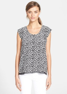 Rebecca Taylor 'Lena' Leopard Print Top