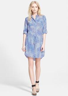Rebecca Taylor 'Leo Fever' Print Silk Shirtdress
