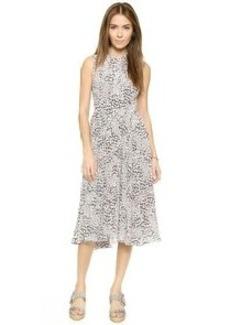 Rebecca Taylor Leo Ruched Dress
