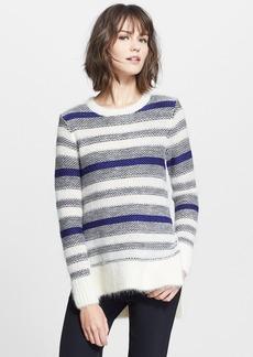 Rebecca Taylor 'Luxe Fluff' Stripe Pullover