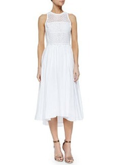 Rebecca Taylor Masie Eyelet Dress, Sea Salt