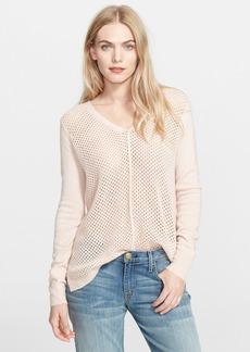 Rebecca Taylor Mesh Knit Sweater