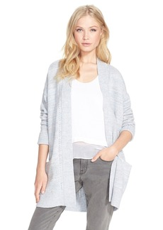 Rebecca Taylor Mixed Gauge Open Cardigan