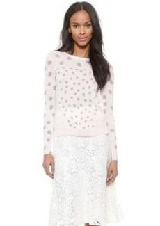 Rebecca Taylor Mixed Ikat Pullover