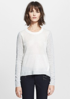 Rebecca Taylor Pointelle Pullover