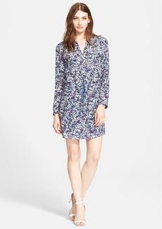 Rebecca Taylor Print Silk Shirtdress