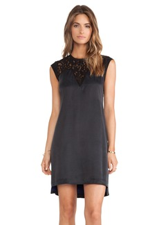 Rebecca Taylor Silk & Lace Mix Dress
