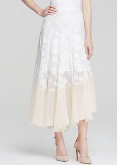 Rebecca Taylor Skirt - Textured Floral