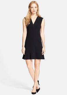 Rebecca Taylor Sleeveless Crepe Dress