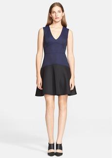 Rebecca Taylor Sleeveless V-Neck Dress
