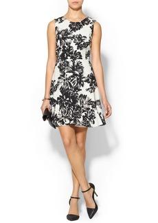 Rebecca Taylor Splash Floral Flirt Dress
