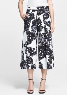 Rebecca Taylor 'Splashy Flower' Print Culottes