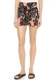 Rebecca Taylor Splashy Flower Shorts