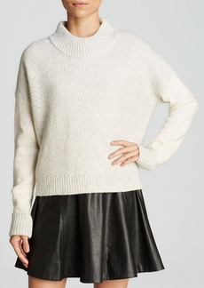 Rebecca Taylor Sweater - Blocked Stitch