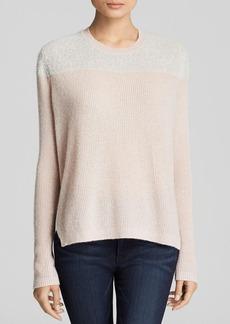 Rebecca Taylor Sweater - Fuzzy Color Block Cashmere