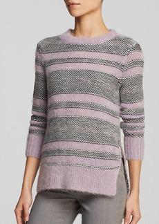 Rebecca Taylor Sweater - Luxe Fluff Stripe