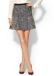 Rebecca Taylor Textured Flippy Skirt