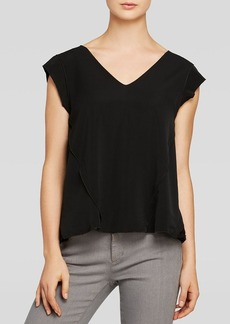 Rebecca Taylor Top - Cady Lace Inset