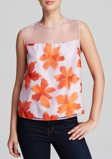 Rebecca Taylor Top - Illusion Floral