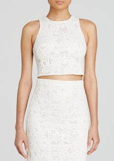 Rebecca Taylor Top - Lace Crop