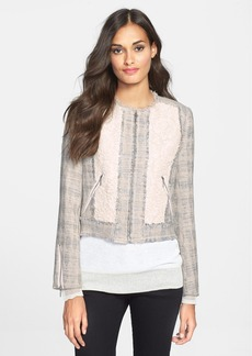 Rebecca Taylor Tweed & Lace Jacket
