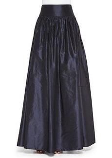 Taffeta Ball Skirt, Navy   Taffeta Ball Skirt, Navy