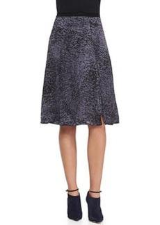 White Noise Silk Asymmetric Skirt   White Noise Silk Asymmetric Skirt