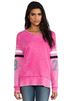 Rebel Yell 79 Torn Warm Up Tunic in Pink