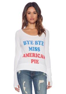 Rebel Yell Bye Bye Miss American Pie Skinny Tee