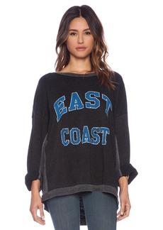 Rebel Yell East Coast Strokes Warm Up Sweatshirt