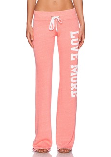 Rebel Yell Love More Boyfriend Sweatpant