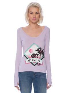Rebel Yell Miami Skinny Tee