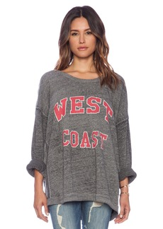 Rebel Yell West Coast Strokes Warm Up Sweatshirt