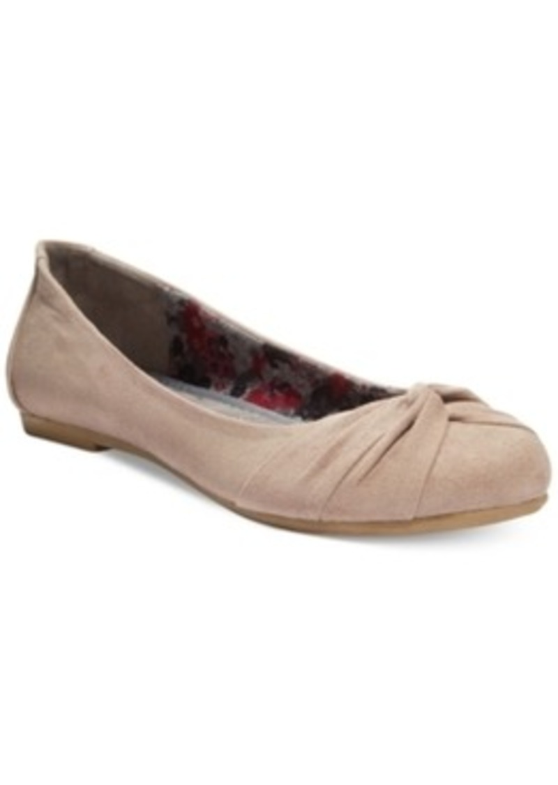 report report mariann knotted flats s shoes shoes