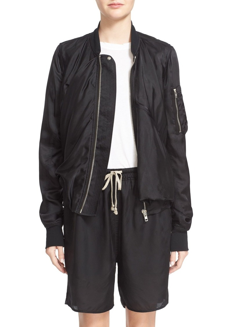 rick owens rick owens bomber jacket outerwear shop it to me. Black Bedroom Furniture Sets. Home Design Ideas