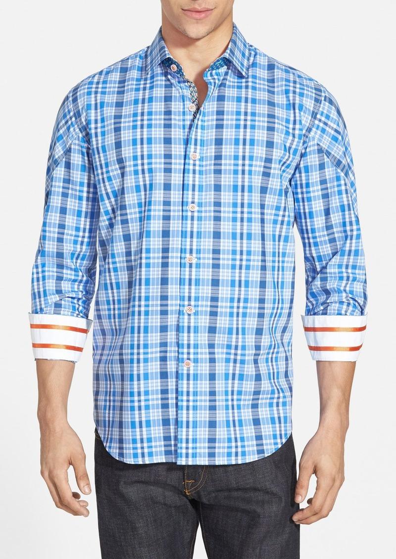 Robert graham robert graham 39 agate 39 tailored fit sport for Robert graham tall shirts