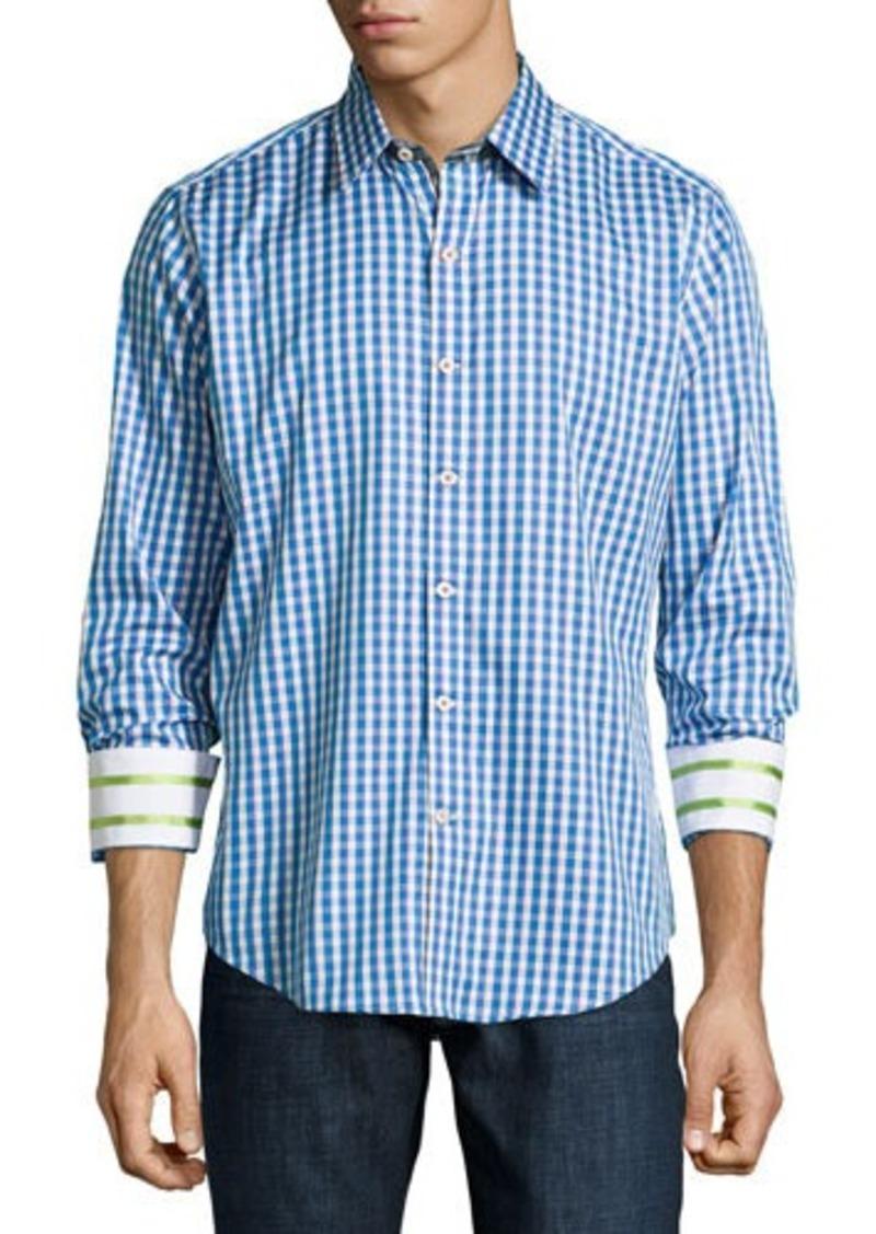 Robert graham robert graham bryant woven long sleeve sport for Robert graham sport shirt