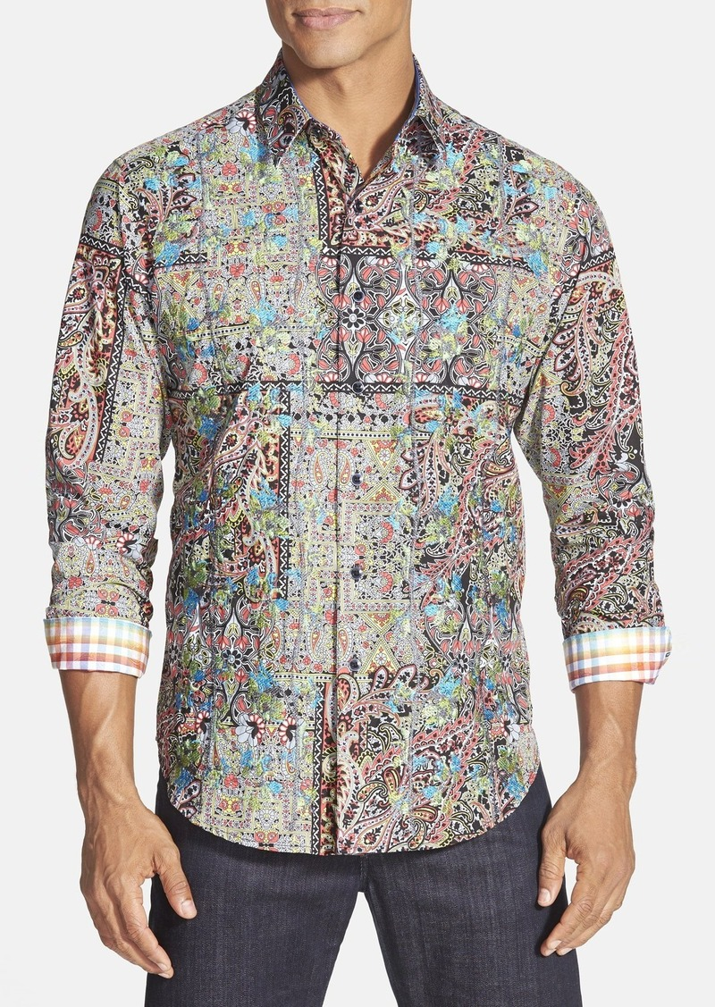 Robert graham robert graham 39 lost city 39 classic fit for Shirt printing places near me