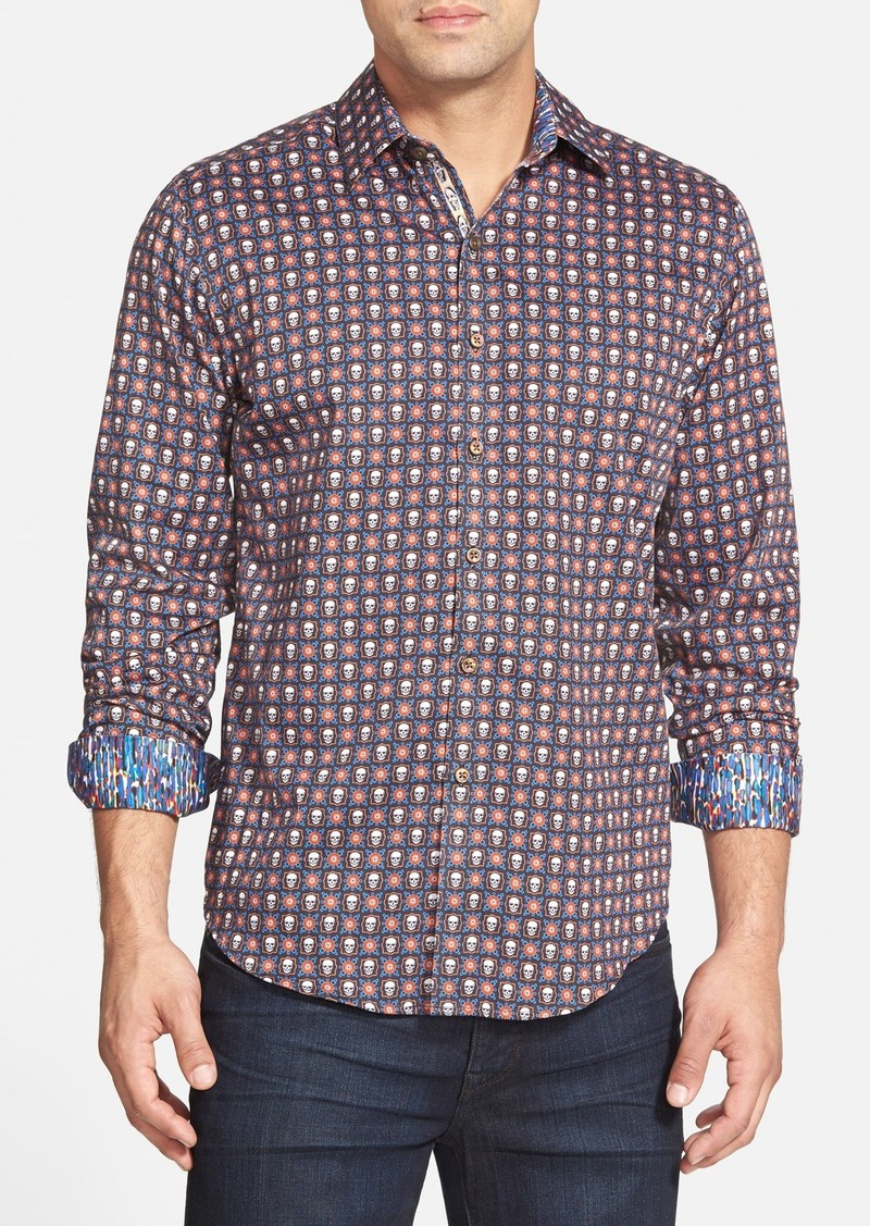 robert graham robert graham 39 macbeth 39 classic fit print