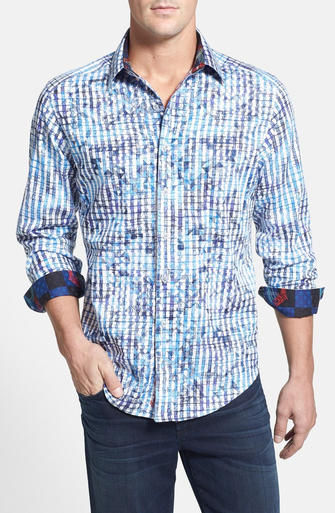 robert graham 39 mai tai 39 classic fit sport shirt tall