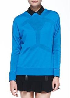 Robert Rodriguez Android Merino Seamed Sweater